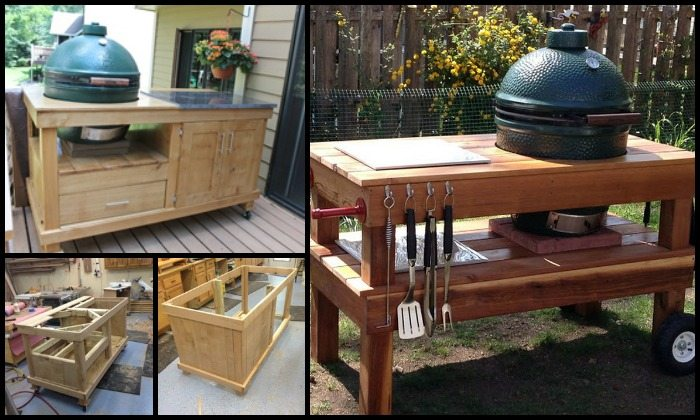 DIY Barbecue Grill Table Main Image