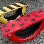 DIY Tire Seesaw