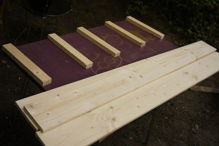 Garden Storage Bench