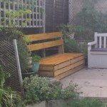 Garden Storage Bench Samples
