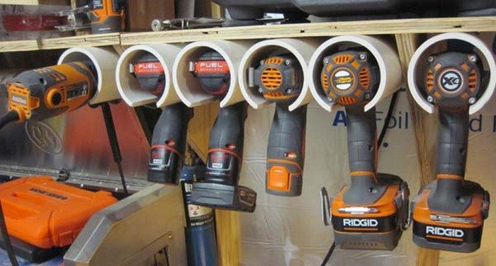 How To Build A PVC Drill Storage Unit DIY Projects For