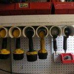 PVC Drill Storage