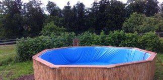 Pallet Swimming Pool