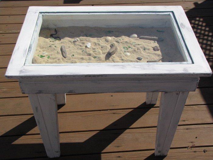 Seashell Coffee Table