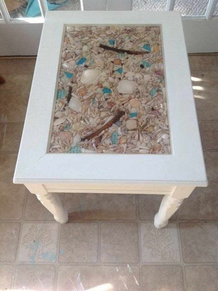 How To Make A Seashell Coffee Table Diy Projects For