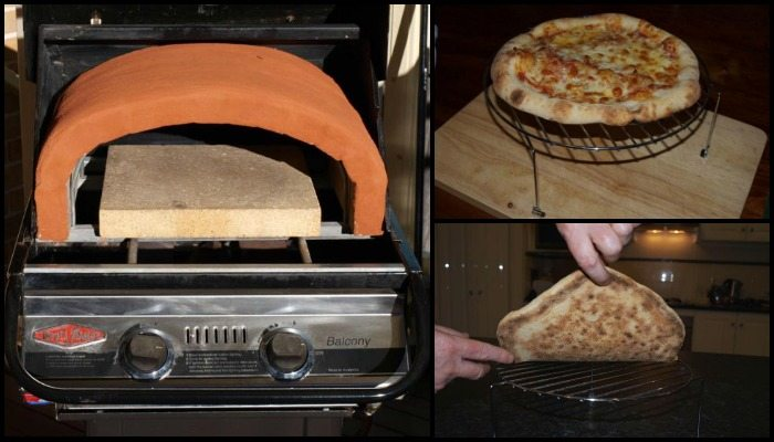 Got a gas BBQ? Here's how to add a pizza dome!