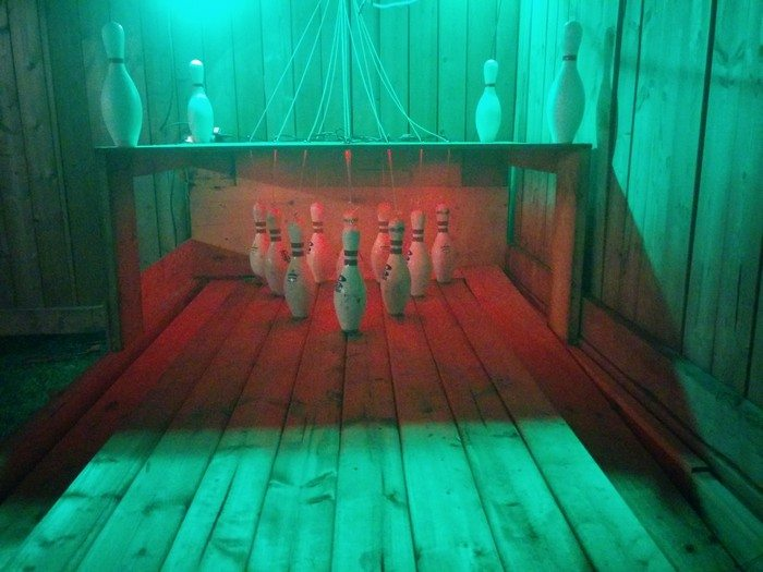 Backyard Bowling Alley - Build A Backyard Bowling Alley! DIY Projects For Everyone!