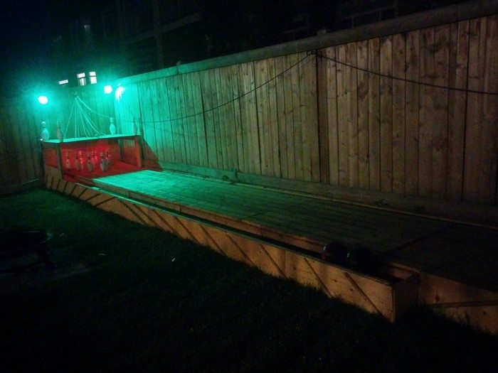 Build a backyard bowling alley diy projects for everyone backyard bowling alley solutioingenieria Images
