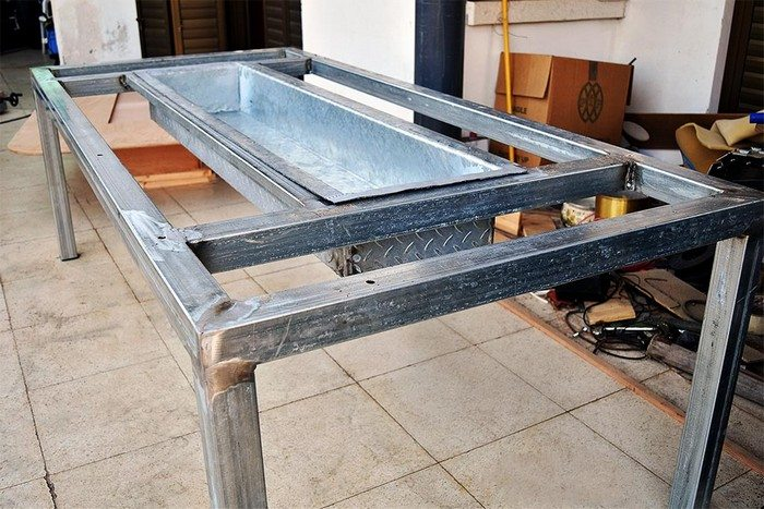 How to build a barbecue grill and table combo | DIY ...
