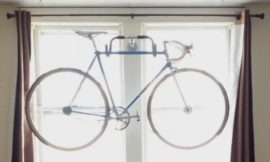 How to build a bicycle wall hanger