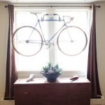 DIY Bike Wall Hanger