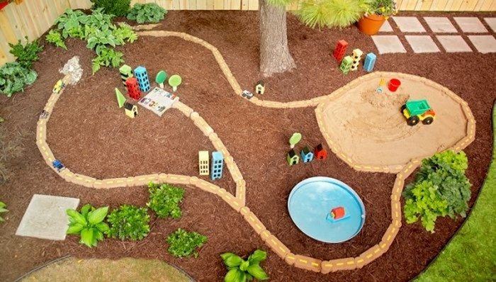 diy outdoor race car track keep your kids entertained for hours with