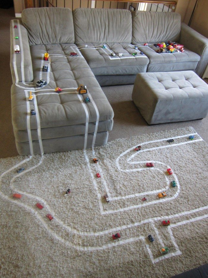 Make a DIY outdoor race car track for your kids! | DIY ...