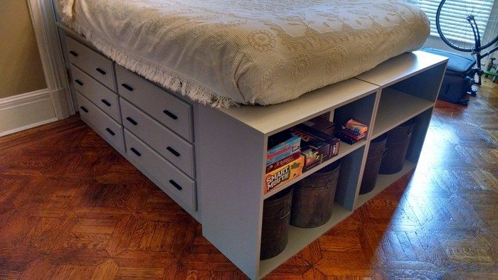 How to build a dresser platform bed from scratch | DIY ...