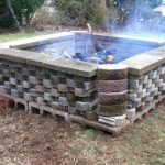Fire Pit Cement Landscape Blocks