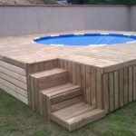 Inexpensive Above-Ground Swimming Pool