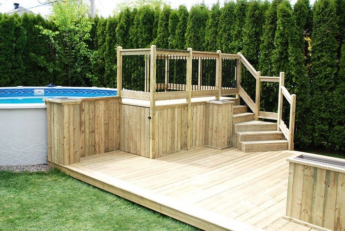 Build an inexpensive above ground swimming pool diy - How to build an above ground swimming pool ...