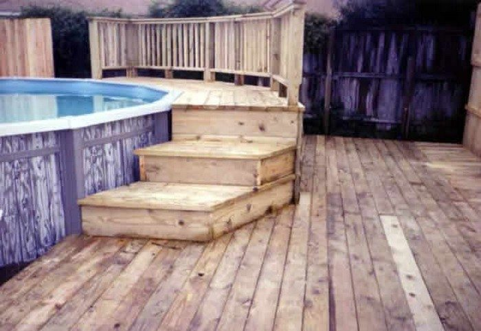 Build An Inexpensive Above Ground Swimming Pool Diy