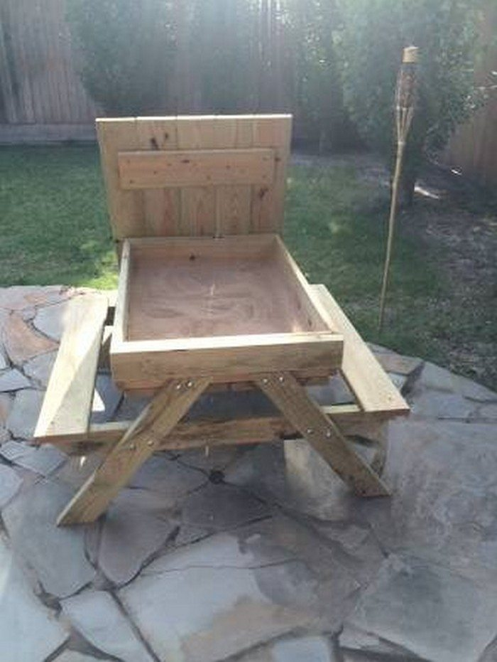 Plans for Building a Wood Picnic Table