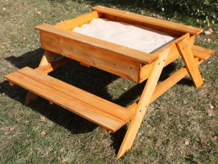 How to build a kids picnic table and sandbox combo | DIY projects for ...