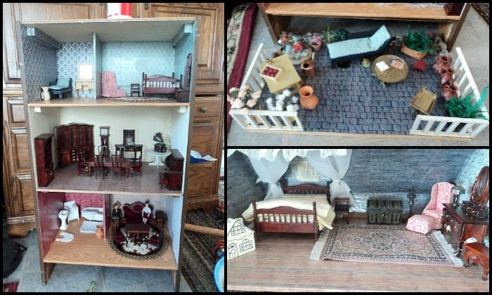 Old Dresser Doll House Main Image