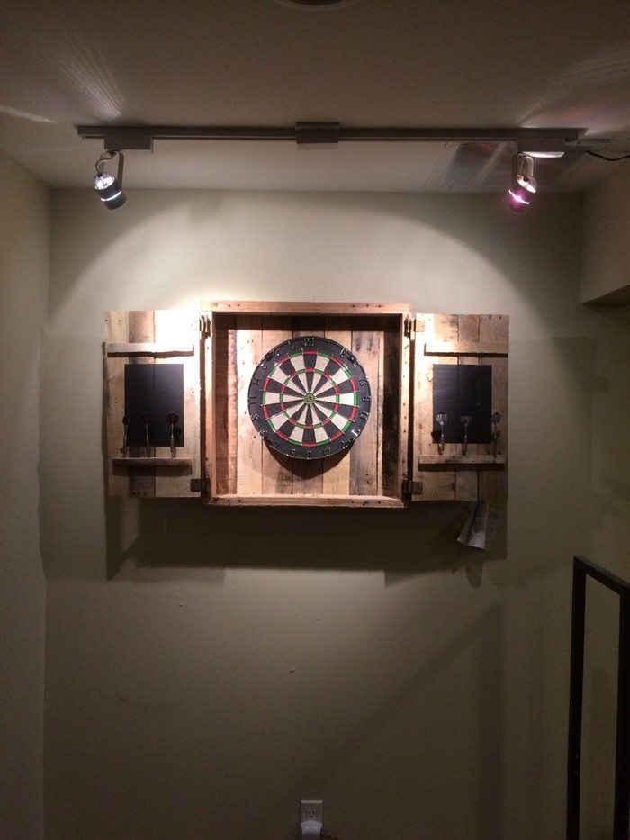 dartboard lighting ideas - lilianduval
