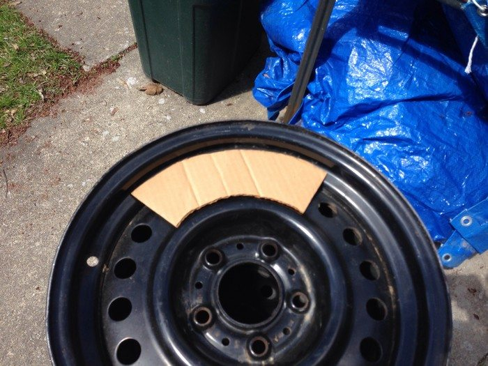 How To Build A Stove From Recycled Tire Rim Diy Projects