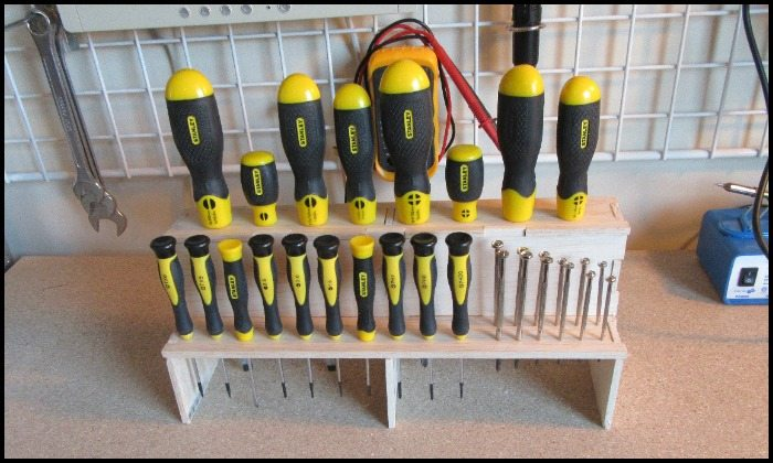 How To Build A Screwdriver Organizer Diy Projects For