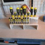 Screwdriver Organizer Samples