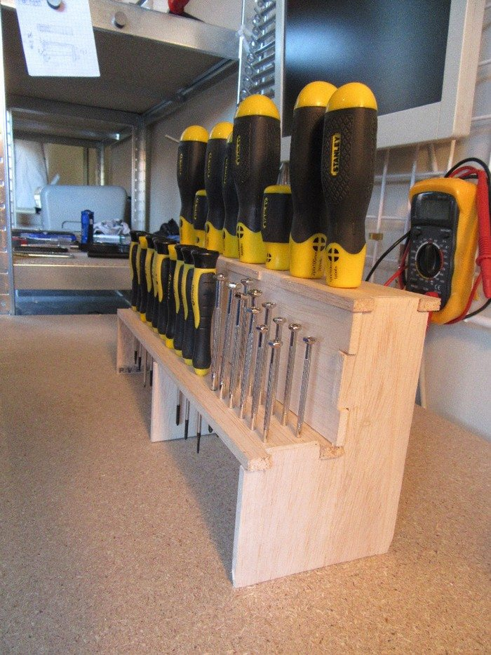 How to build a screwdriver organizer | DIY projects for everyone!