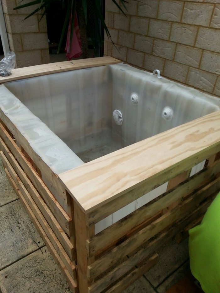 How to build an inexpensive above ground plunge pool diy - Do it yourself swimming pool kits ...