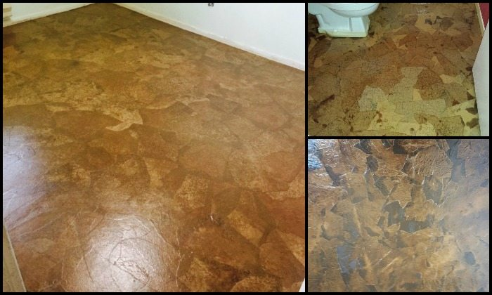 How to make brown paper bag flooring diy projects for for Main floor flooring ideas