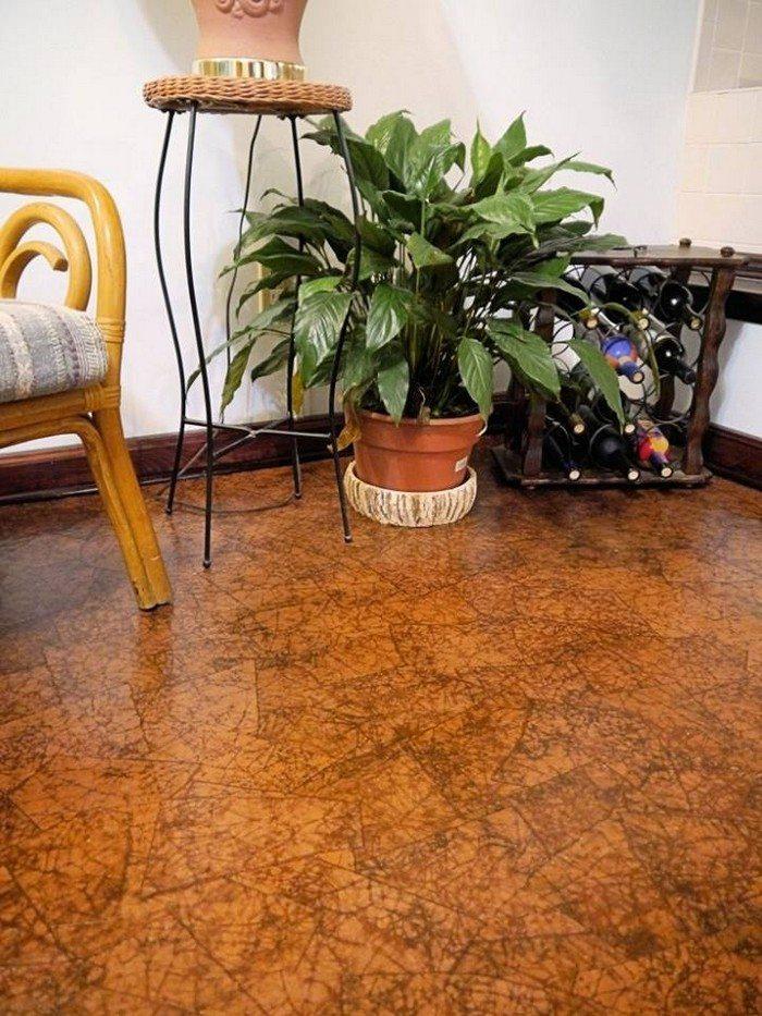 Brown Paper bag Flooring Samples