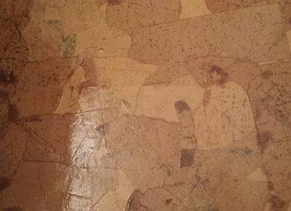 Brown Paperbag Flooring