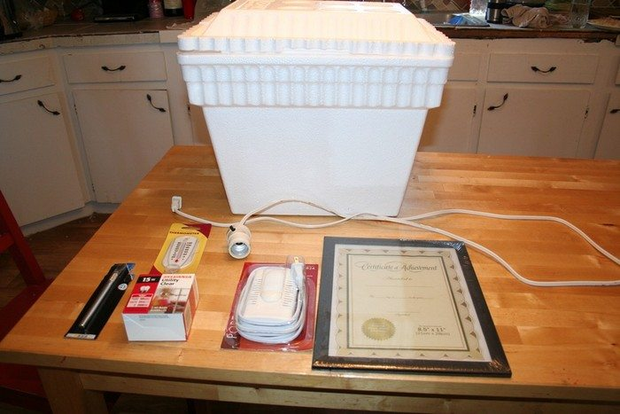 Build an inexpensive egg incubator : DIY projects for ...