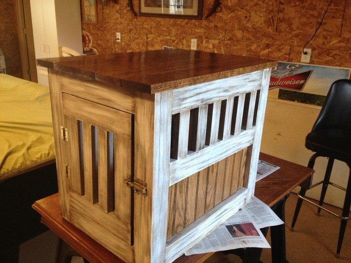 How To Build A Dog Kennel End Table DIY Projects For Everyone - How to build an end table