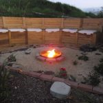 Fire Pit Seating with Storage