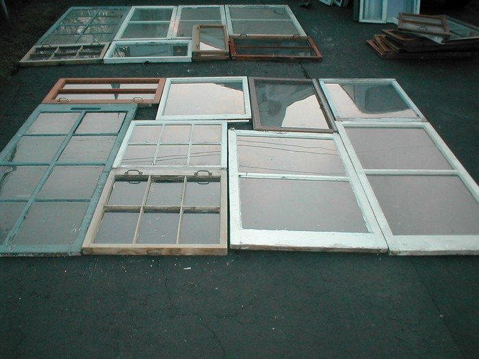 How to build a greenhouse from old windows diy projects for Recycled windows and doors
