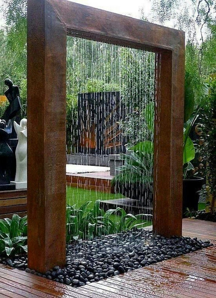 Rain Shower Fountain Samples
