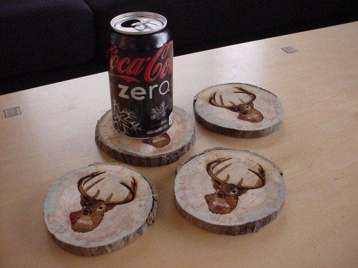 How To Make Coasters From Tree Limbs Diy Projects For