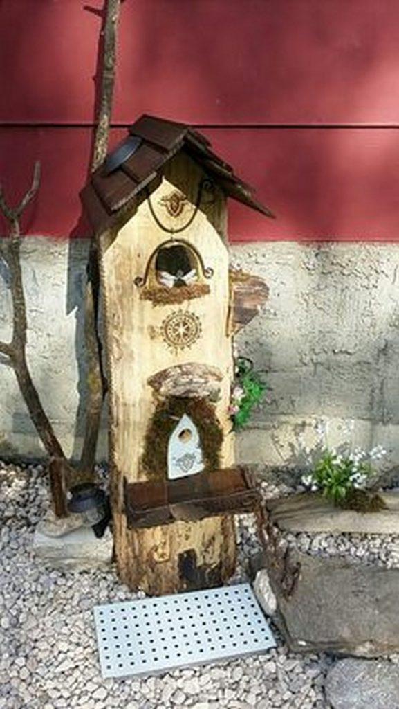 Gnome Tree Stump House