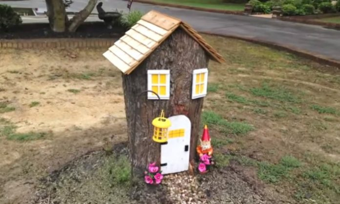 how to make a fairy house in a tree