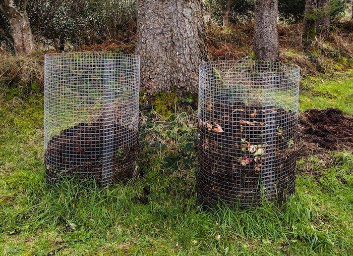 Wire Mesh Compost Bin