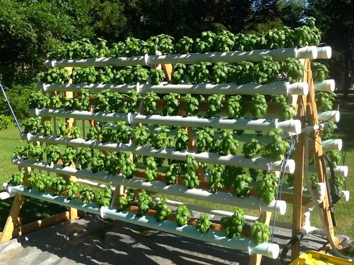how to build a hydroponic weed grow system