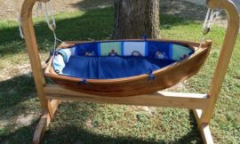 Build a baby boat cradle!
