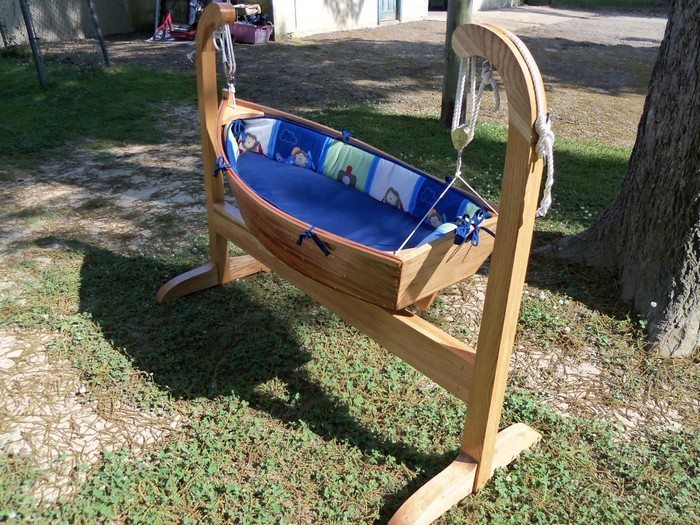 how to make a boat cradle