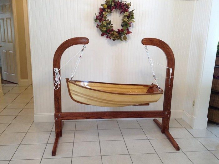 Build A Baby Boat Cradle Diy Projects For Everyone
