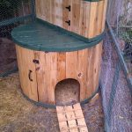 Cable Spool Duck House with Storage