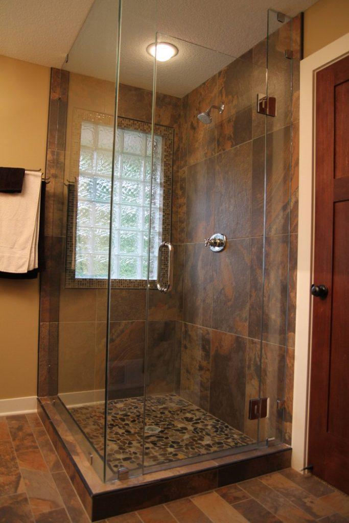 DIY Pebble Shower Floor