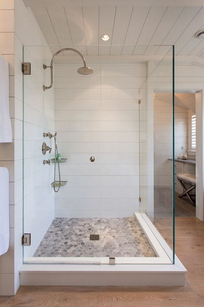 Revamp Your Bathroom With A Pebble Shower Floor DIY Projects For Everyone
